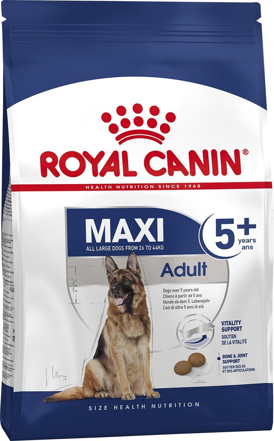 Royal Canin (сухие корма) Для пожилых собак крупных пород 5-8 лет (4 кг)