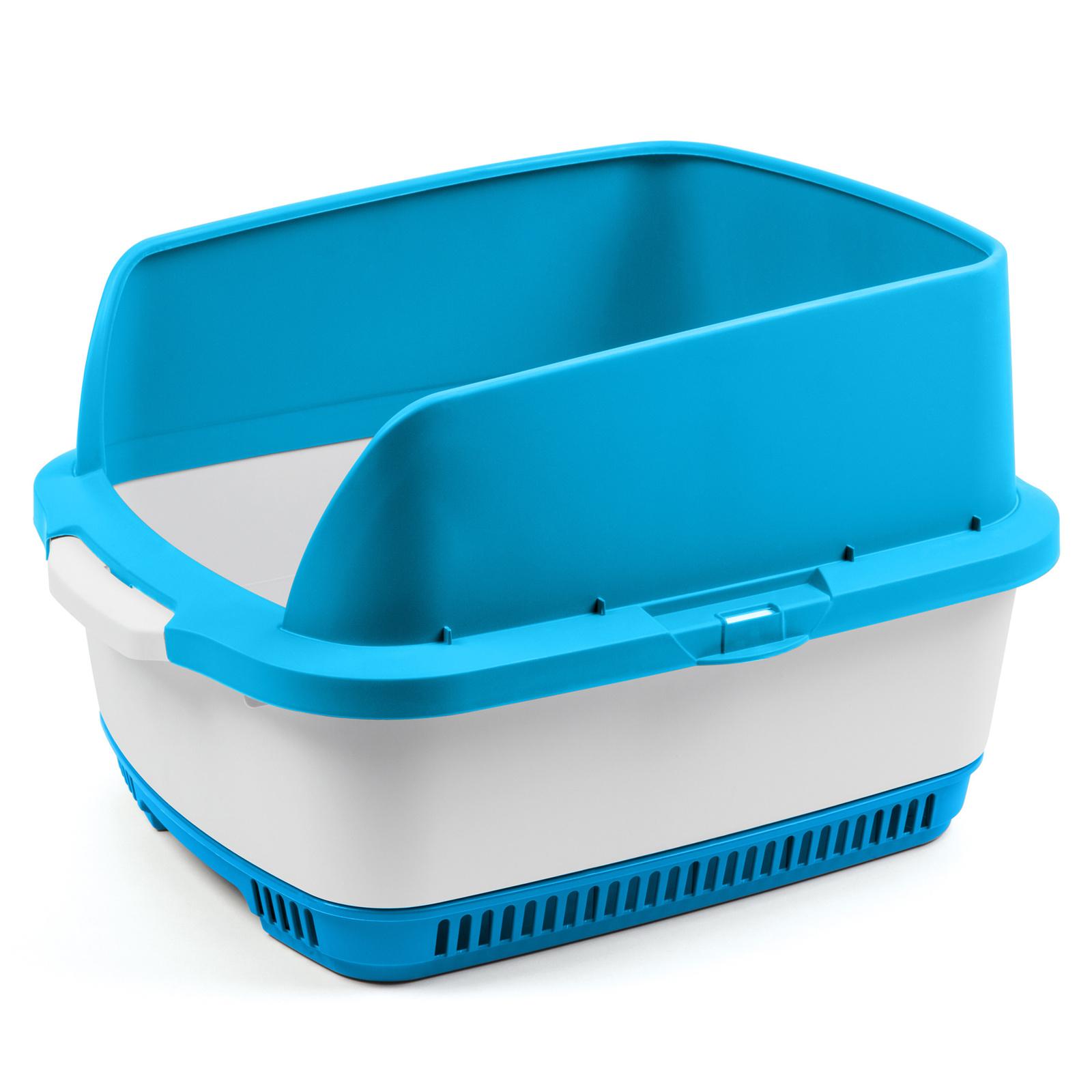 Набор Cateco: туалет, бортики, совок, 10 пеленок, голубой (3 кг)