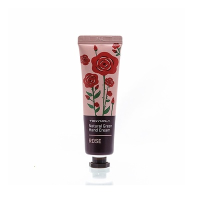 "Natural Green Крем для рук ""Роза"" (Hand Cream Rose) 63502 Tony Moly"