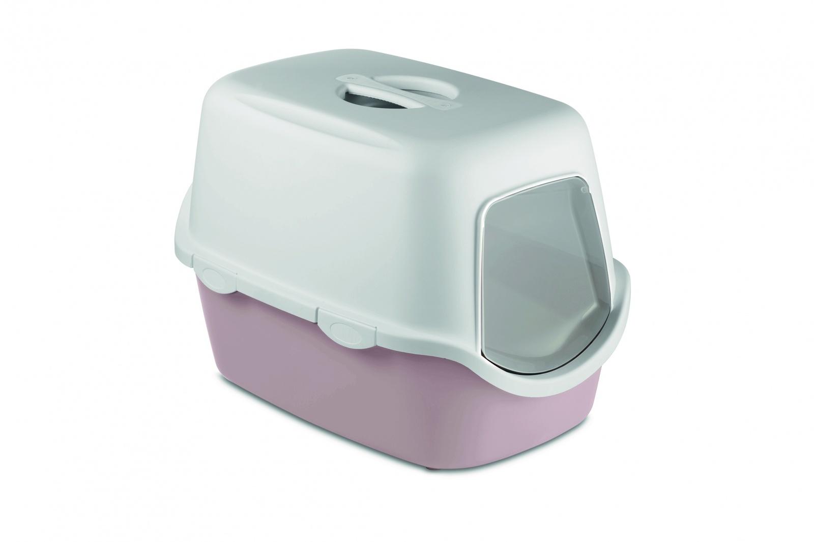 Stefanplast Туалет закрытый Cathy, с угольным фильтром, пудровый, 56х40х40 см (1,53 кг)