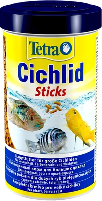 Tetra (корма) корм для цихлид. палочки Cichlid Sticks