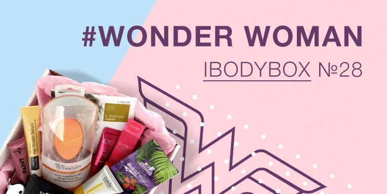Ibodybox №28 #Wonder Woman