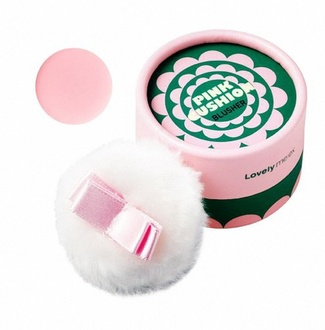 Румяна для лица 04 Pink Lovely Meex Pastel Cushion Blusher 201494 The FaceShop