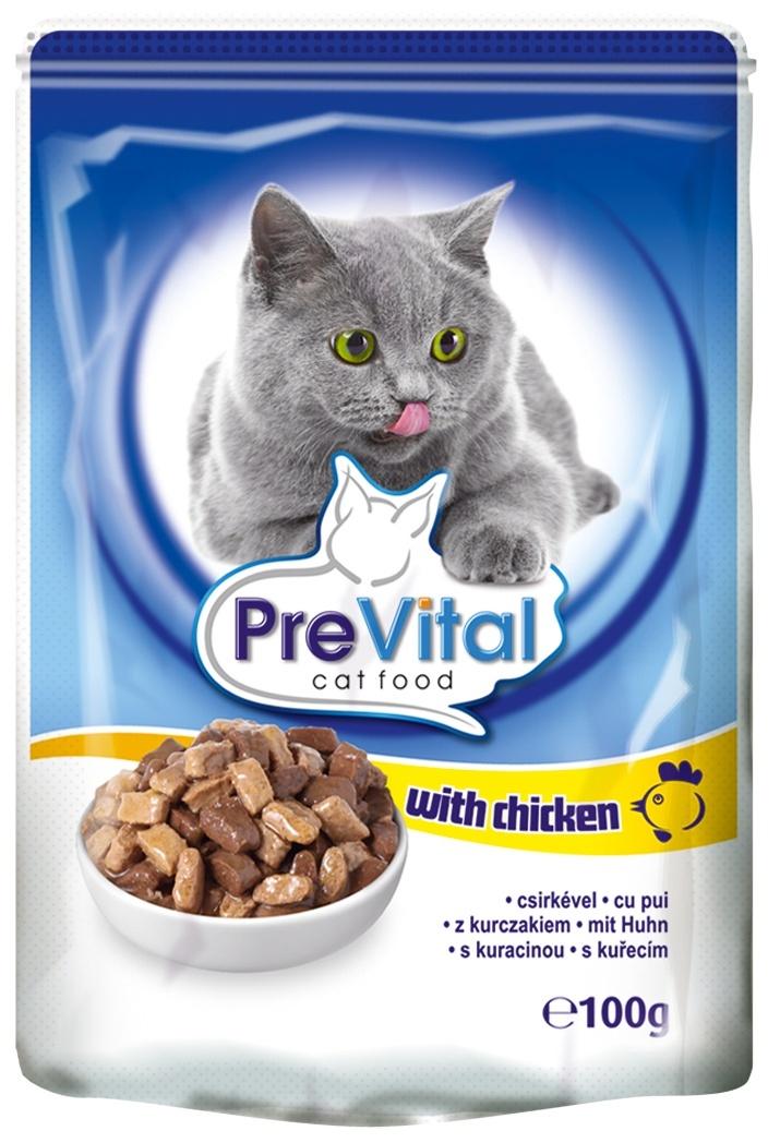PreVital Паучи классик в соусе с курицей (100 г)