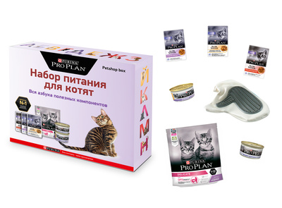 Корм Purina Pro Plan набор для Котят Purina Pro Plan Kitten  , Junior & Baby Kitten