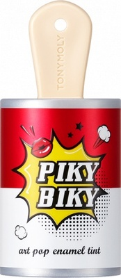 Тинт для губ 02 Visual Shock (Piky Biky Art Pop Enamel Tint)  201851 Tony Moly