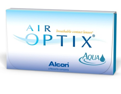Линзы на 30дней Air Optix Aqua 6шт.  010266 Alcon