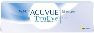 Линзы на 1день 1Day Acuvue TruEye, 30шт. (опт.сила +3, R=8,5, D=14,2) 0004530 Johnson&Johnson