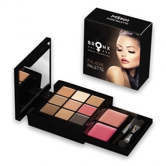 Палетка NUDE PALETTE Тени+ помада (Makeup Set NUDE PALETTE) MS901 300078 Bronx Colors