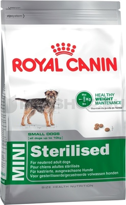 УЦЕНКА royal Canin RC Для кастрированных собак карликовых пород (Mini Sterilised) 316040