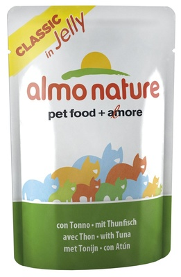 Almo Nature Паучи Тунец в Желе для кошек (Jelly Cat Tuna) 5042 23413.уц УЦЕНКА