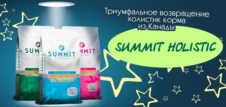Триумфальное возвращение корма Summit Holistic!