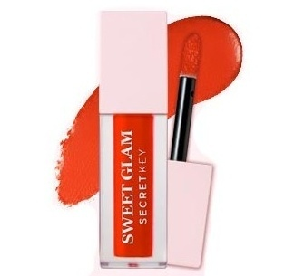 Тинт для губ Sweet Glam Velvet Tint  02 Orange berry 201786 Secret Key