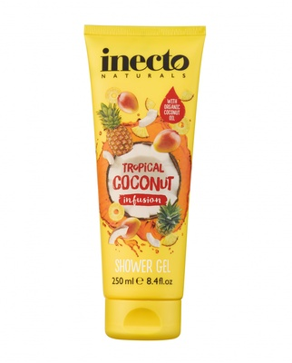 Гель для душа  Infusions Tropical Coconut Shower  64242 Inecto