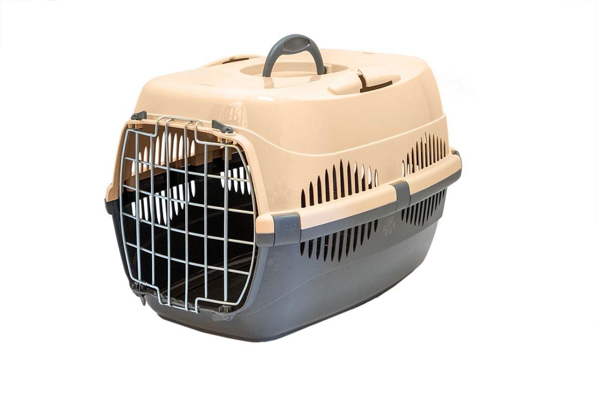 Yami-Yami Yami-Yami переноска для животных Спутник-2, темно-серая с бежевым (1,27 кг) yami yami 1шт игрушка мячик пластмассовый для кошек 3 5см 2400 0 007 кг 2 шт