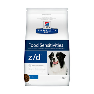 z/d Food Sensitivities для собак при пищевой аллергии, диетический гипоаллергенный