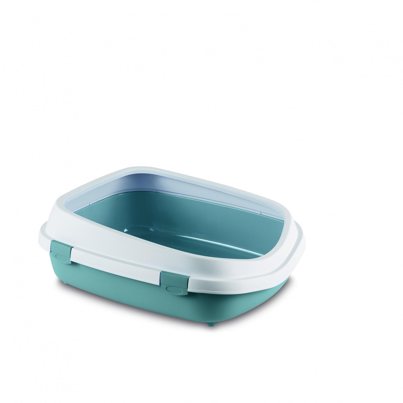Stefanplast Stefanplast туалет Queen с рамкой, синий, 55х71х24,5 см (1,62 кг)