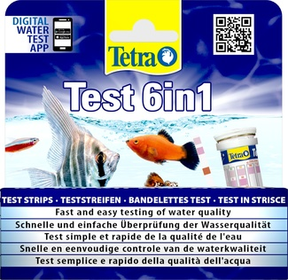 Тест для воды Test Strips: 6 в 1