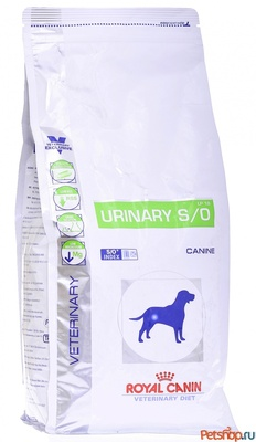 Royal Canin (вет.корма) Для собак при мочекамен. болезни, струвиты, оксалаты(Urinary S/O) 2 кг 11787.уц УЦЕНКА
