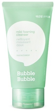 Пенка для умывания, мягкая (Bubble Bubble Mild Foaming Cleanser) 24853 The FaceShop