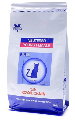 УЦЕНКА royal Canin (вет.корма) New! Для стерилиз. кошек: 1-7лет (Neutered Young Female)