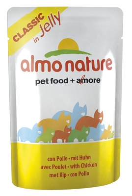 УЦЕНКА almo Nature Паучи Курица в  Желе для кошек (Jelly Cat Chicken)  5040
