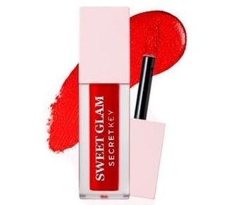 Тинт для губ Sweet Glam Velvet Tint 01Red more 201785 Secret Key