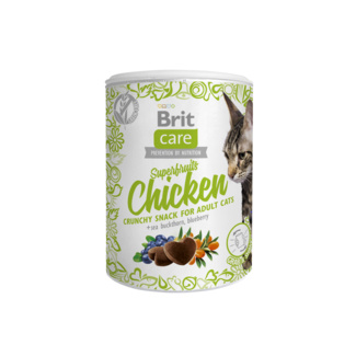 Care лакомство для кошек, с курицей Brit