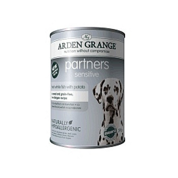Arden Grange Консервы для собак с белой рыбой и картофелем (Sensitive, Fish & Potato) AG825016 16682.уц УЦЕНКА