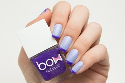 Лак для ногтей Thermo Top Coat Violet   99963 BOW