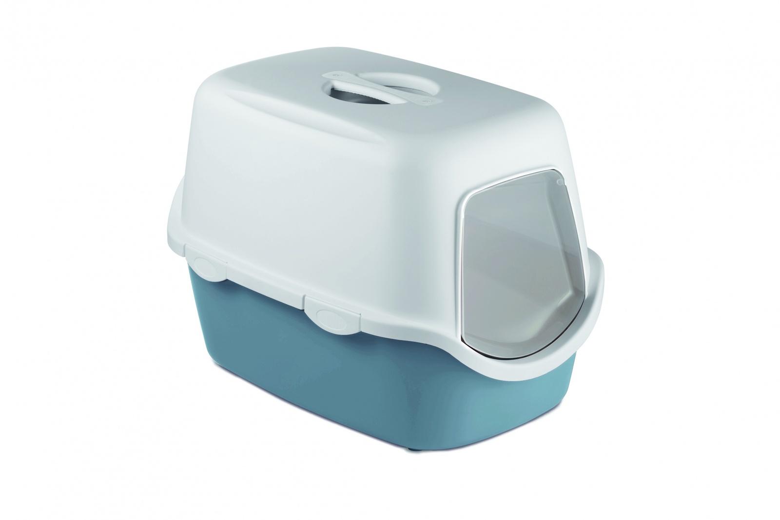 Stefanplast Туалет закрытый Cathy, синий, 56х40х40 см (1,52 кг)