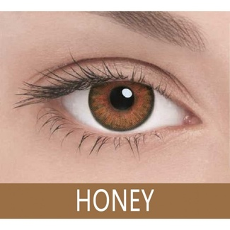 Линзы на 3 месяца Color 3 Tone Honey Медовый, 2 шт.  07459 Adria