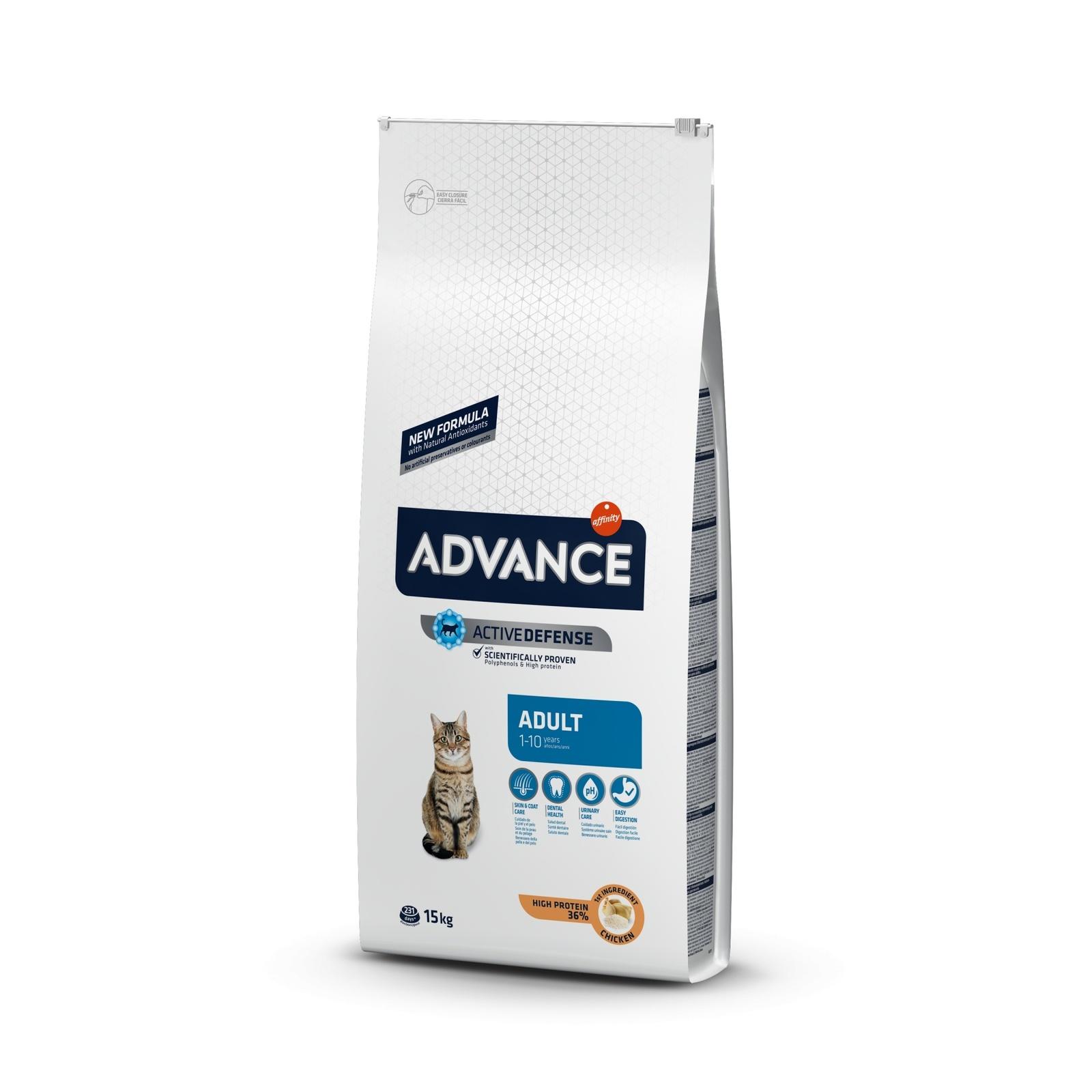 Advance Для взрослых кошек, курица и рис (3 кг)