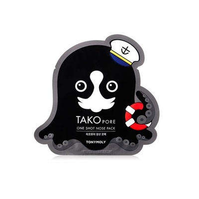 Tako Pore Пластырь для носа One Shot Nose Pack 24677 Tony Moly