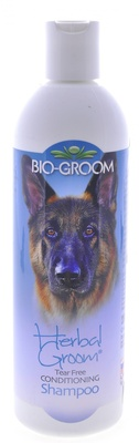 "BIO-GROOM шампунь ""Травяной"", концентрат 1:4, 1.8 литра готового шампуня, Herbal Groom Shampoo"