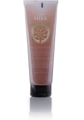 Гель-пилинг для душа (Shea Exfoliating Shower Gel)  63831 Bodycare from Africa