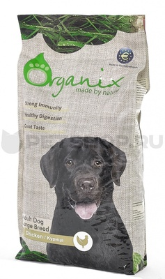 УЦЕНКА organix сухой корм Для собак крупных пород (Adult Dog Large Breed Chicken)