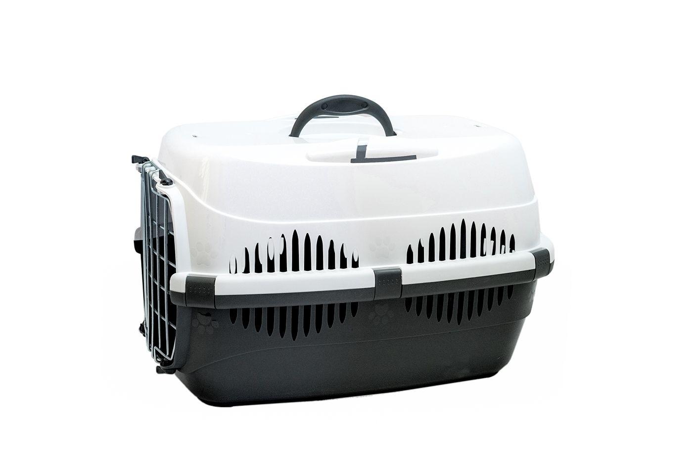 Yami-Yami Yami-Yami переноска для животных Спутник-2, темно-серая с белым (1,27 кг) yami yami 1шт игрушка мячик пластмассовый для кошек 3 5см 2400 0 007 кг 2 шт